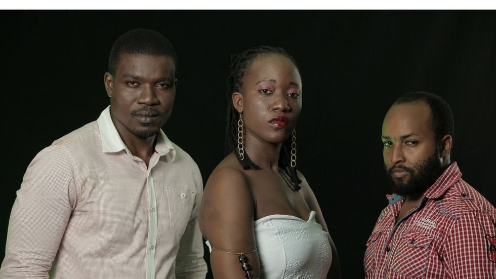 The lead cast of new movie on Maisha Magic East, Gift from a Curse
