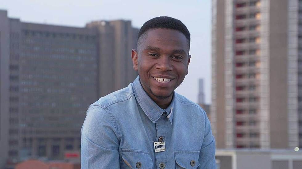 The host of Love Back season four, Thomas Gumede.
