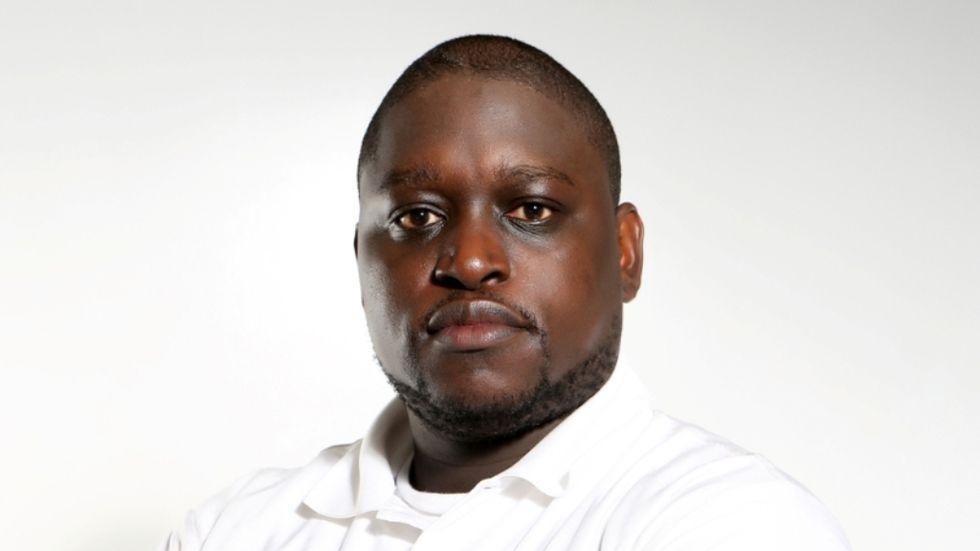 Kenyan actor Gerald Langiri