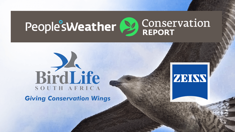 Brands on Demand - Article Image for Peoples Weather - BirdLife South Africa
