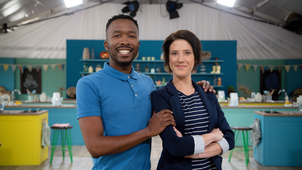 The Great SA Bake Off, S2, presenters, Lentswe, Anne Hirsch, new