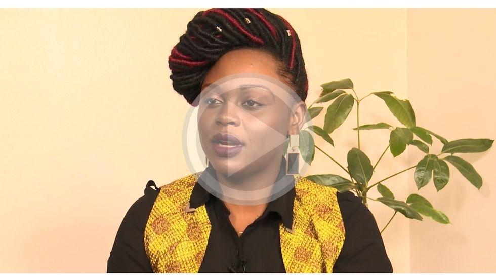 Ugandan artist Rema Namakula