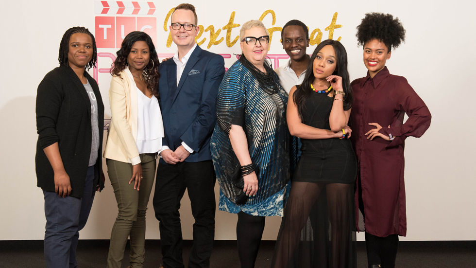 The Top 3 finalists and judges for TLC's Next Great Presenter search