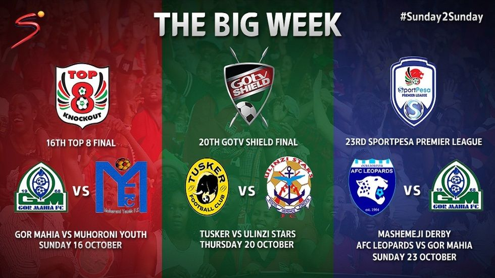 The Big Week artwork on SuperSport