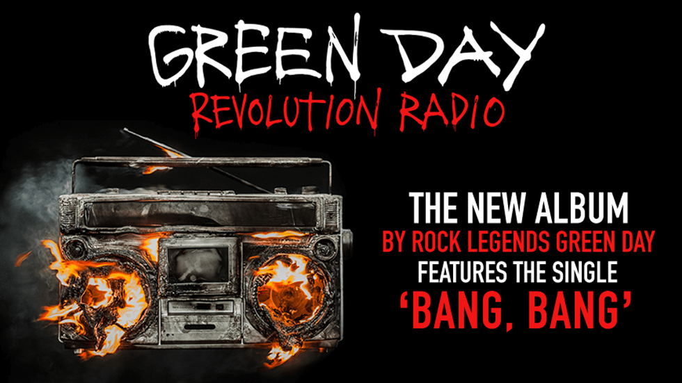 Green Day Revolution Radio brand image for Brands on Demand - October 2016