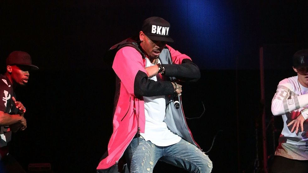 Chris Brown at a past performance