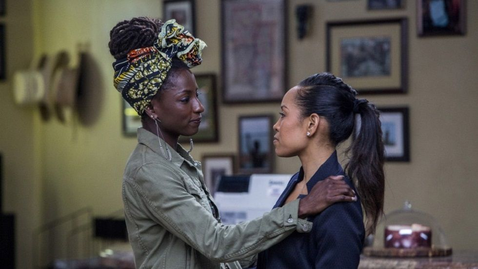 Nova Bordelon and Charley Bordelon in Queen Sugar