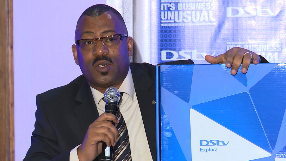 MultiChoice Kenya Sales Manager Steve Kombo
