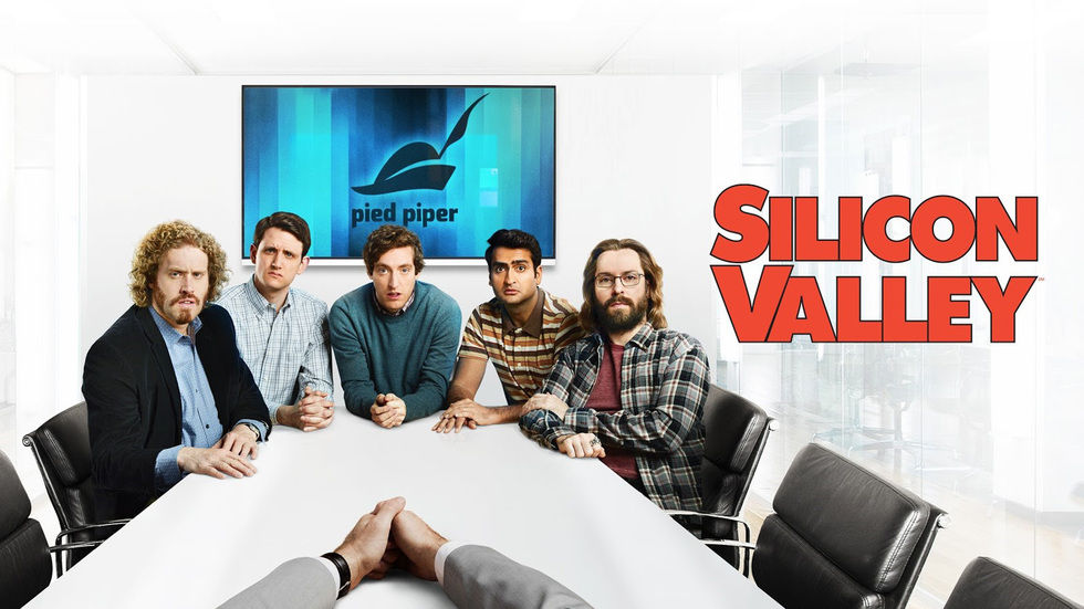 Silicone Valley poster.