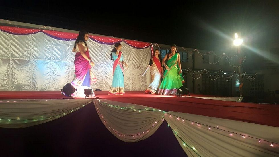 Dancers during the Diwali celebrations at Mombasa Sports Club