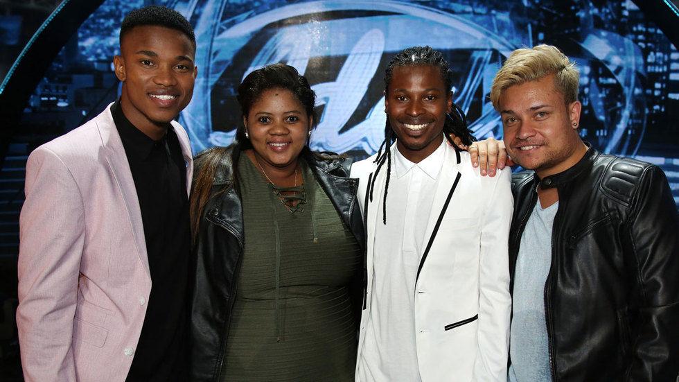 Idols SA top four.