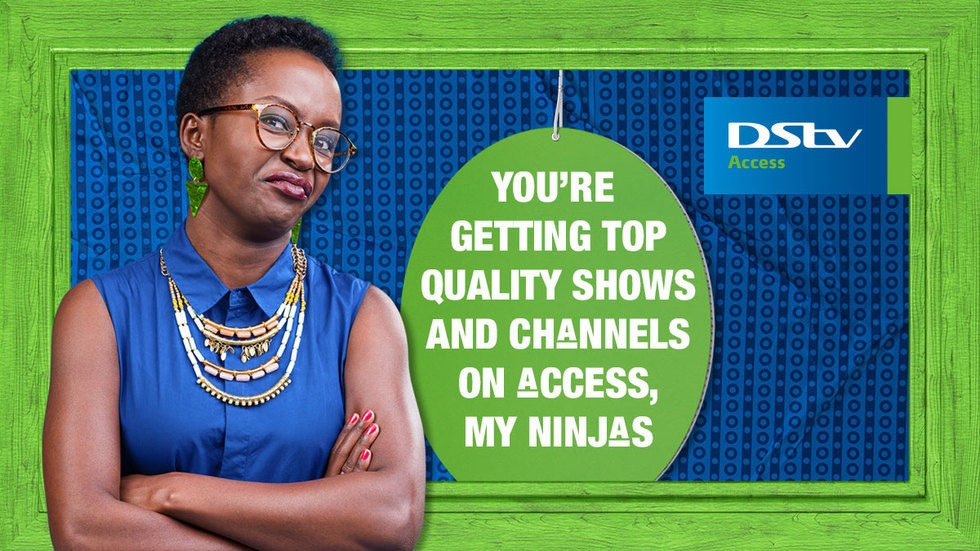 Get DStv Generic Access Anne Price
