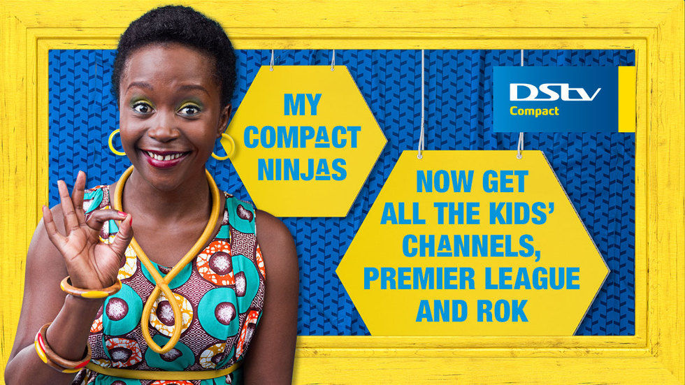 Get DStv Generic Compact Anne Content