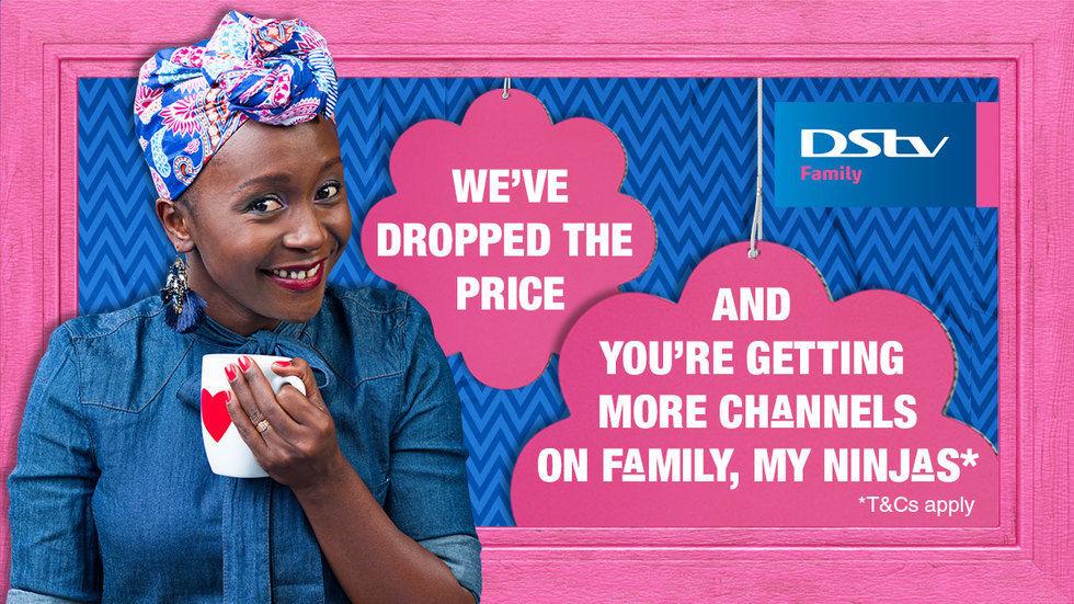 Get DStv Generic Family Anne Price