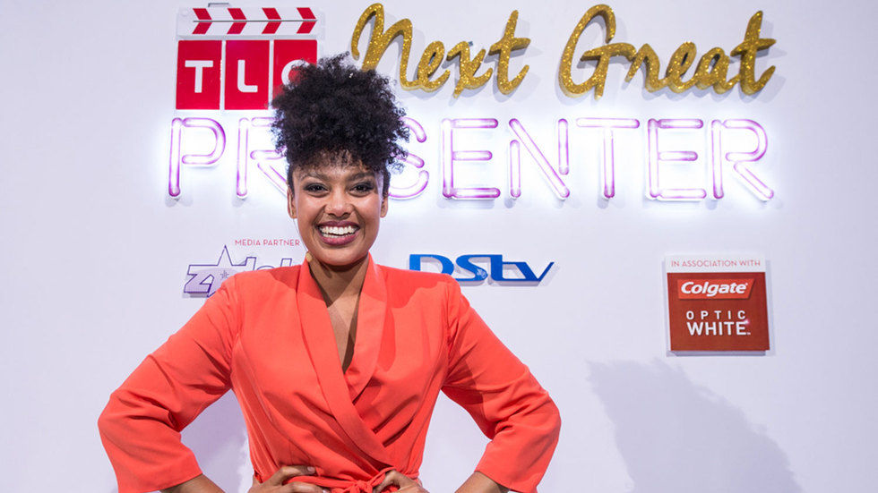 The winner of TLC's Next Great Presenter, Carissa Cupido.