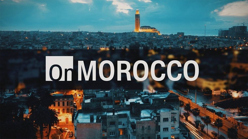 On Morocco logo on CNN