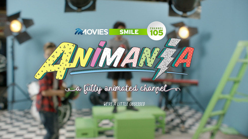 Animania on M-Net Movies Smile
