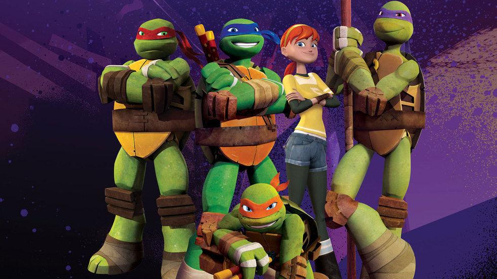 Teenage Mutant Ninja Turtles.