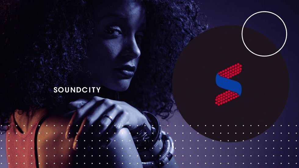 Logo for the DStv channel Soundcity - channel 327