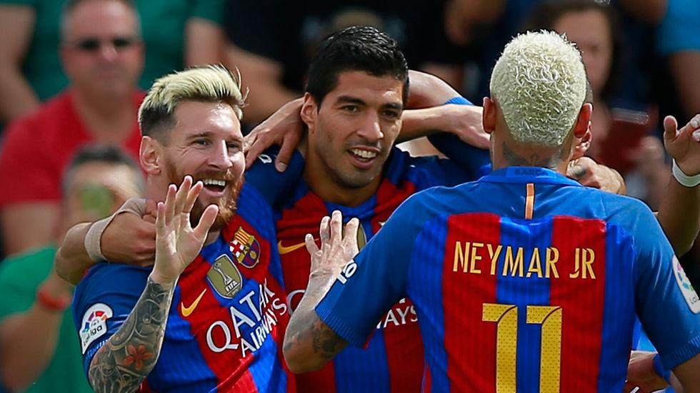 Dstv, Getty, Barcelona, Atletico, Neymar, Messi