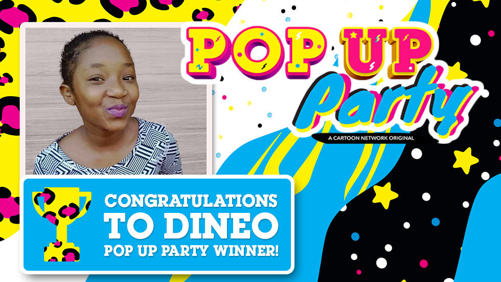 An image of Pop Up Party winner Dineo Moerane