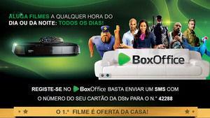 BoxOffice: aluguer de filmes