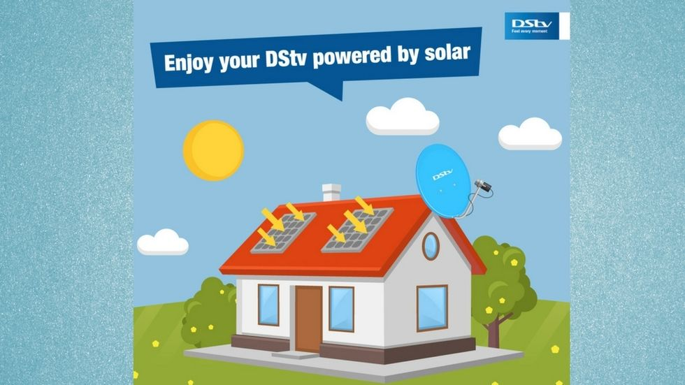 Solar Power DStv