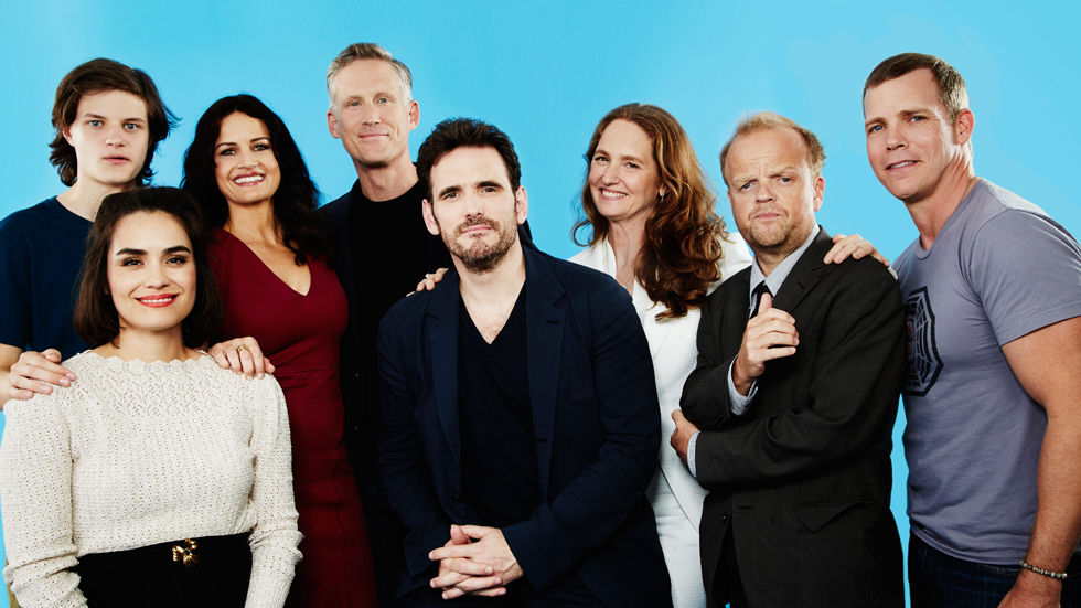 An image of the cast of Wayward Pines