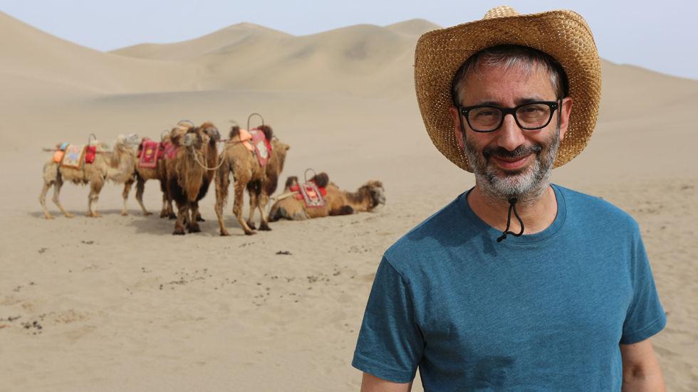 David Baddiel for the Discovery Family documentary David Baddiel on the Silk Road