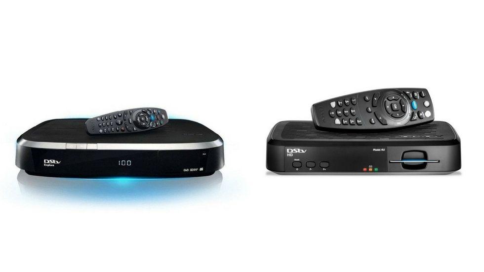 DStv Explora and HD decoder