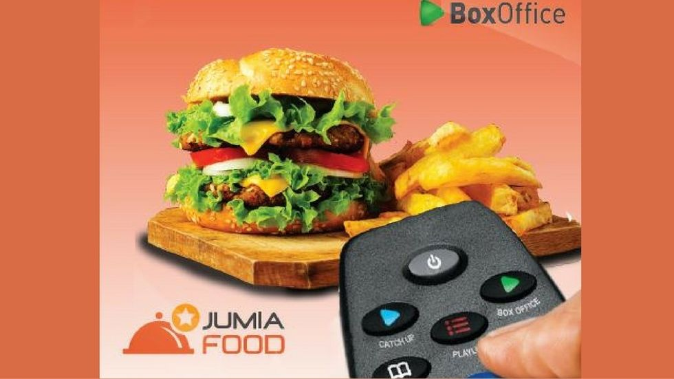 DStv rent and win with Jumia Food