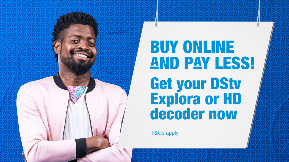 Get your DStv Explora or HD decoder now