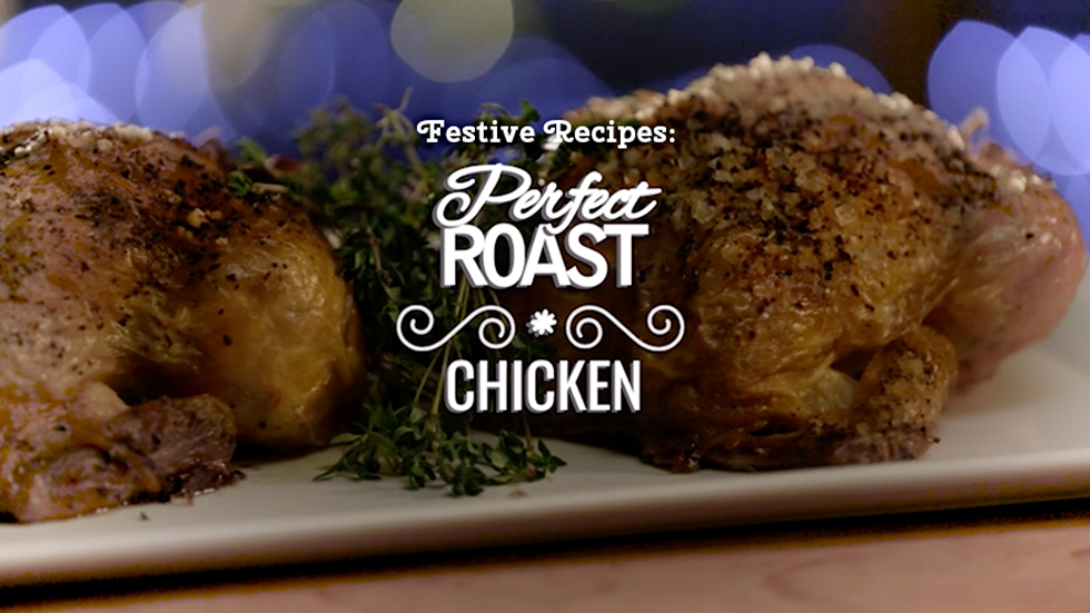 Brands on Demand - DMS Campaign - Festive Recipes - Perfect roast chicken