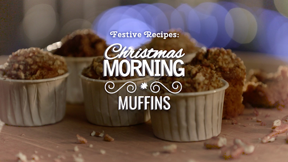 Brands on Demand - DMS campaign featuring Christmas Morning Muffins.