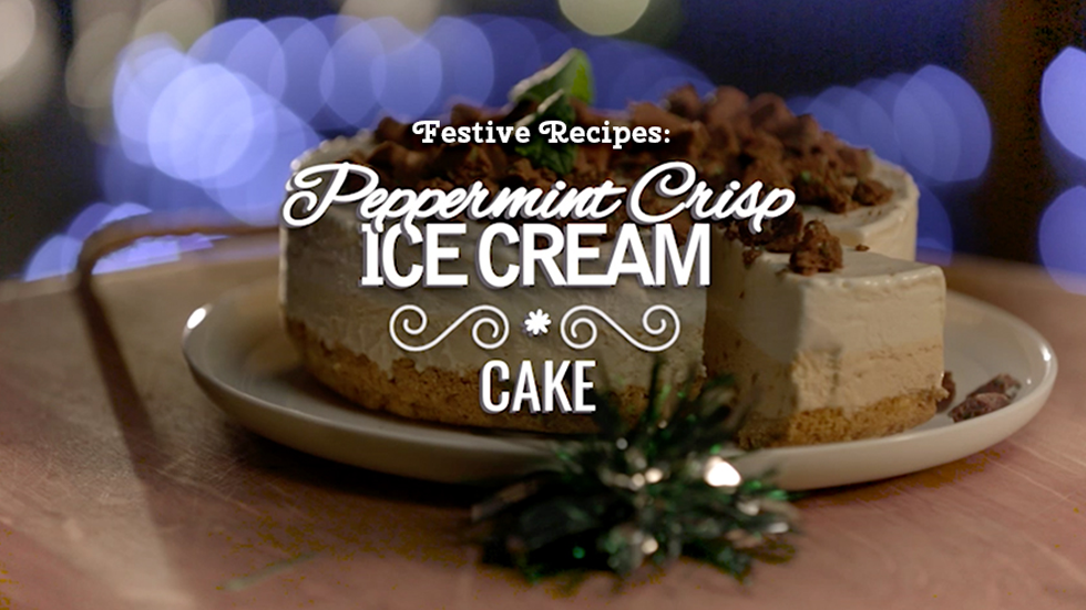 Brands on Demand - DMS Campaign - Peppermint Crisp Ice Cream Cake