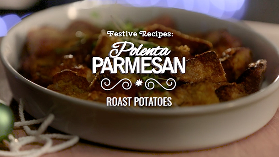 Brands on Demand - DMS campaign - Polenta Parmesan roast potatoes