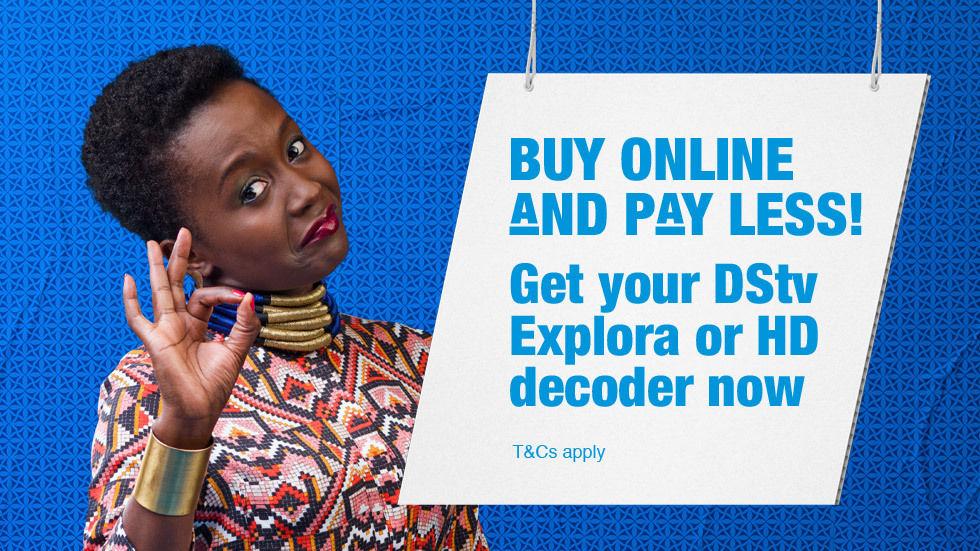 DStv Webshop Kenya
