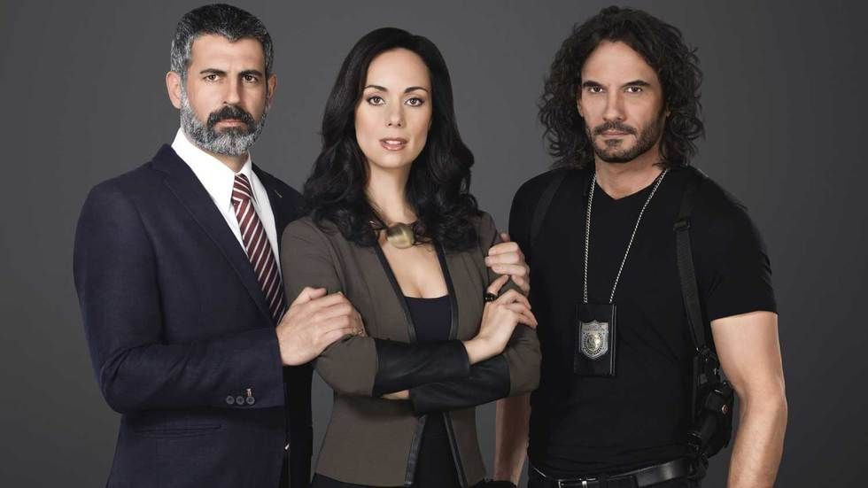 The cast from Telemundo's newest telenova, The Son I Never Knew.