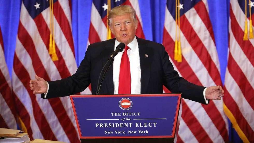 President Elect Donald Trump.