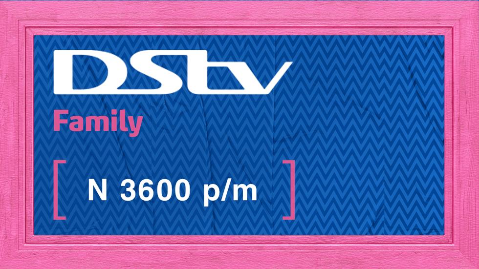 Get DStv Family Value Add Nigeria