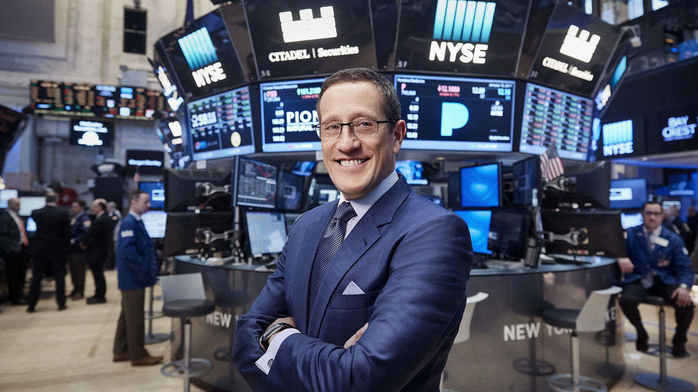 The host of Quest Express, Richard Quest.