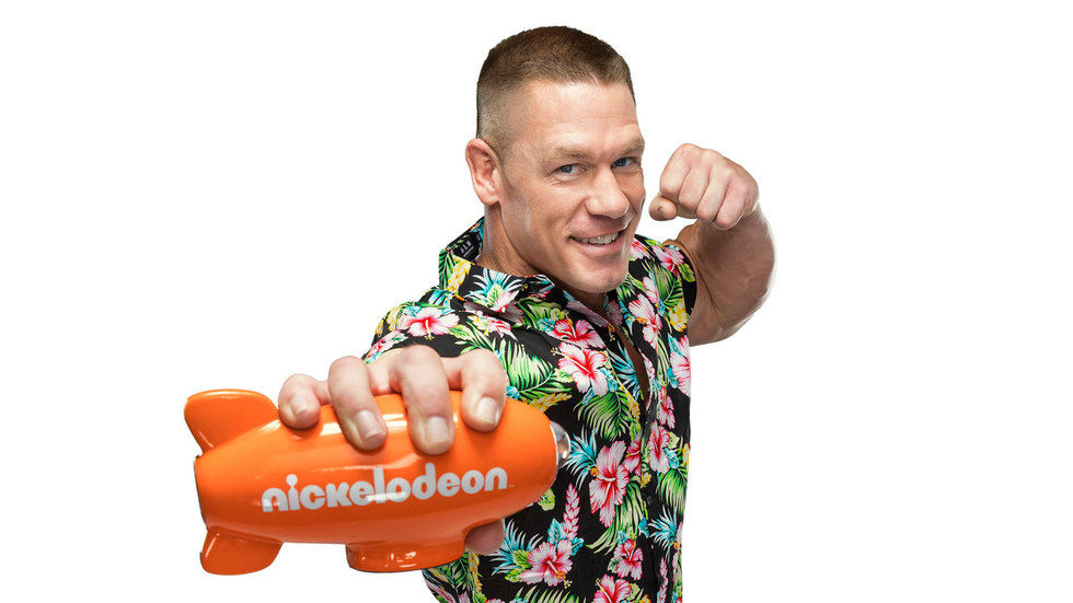 WWE superstar, actor and television host John Cena.