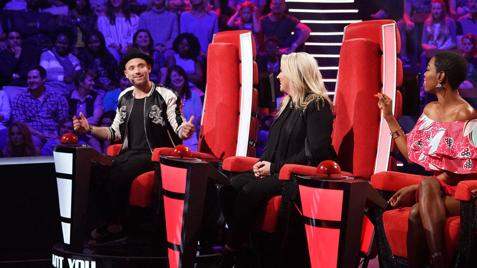 The judges of The Voice SA have a chat.