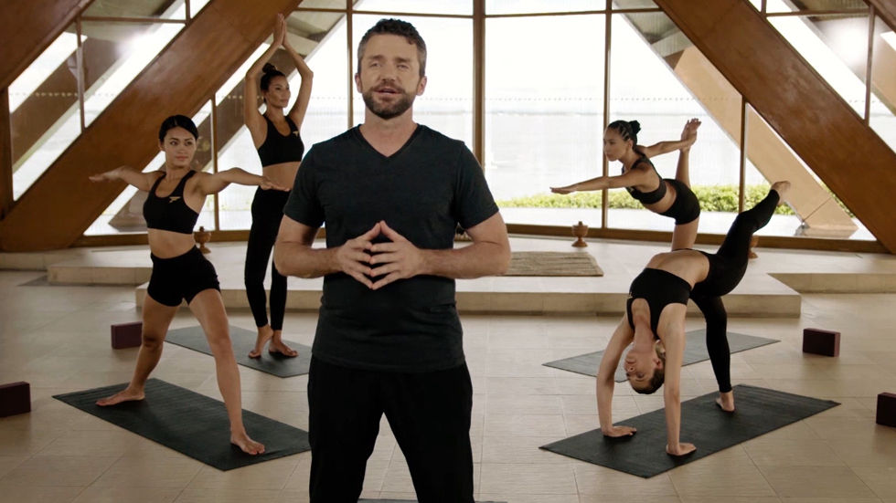 Artwork for the new season of Model Yoga on Fashion One