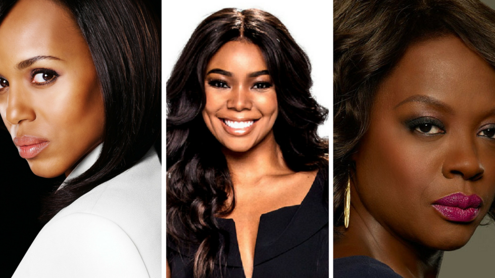 An image of Olivia Pope in The Fixer, Mary Jane Paul in Being Mary Jane and Annalise Keating in How To Get Away with Murder