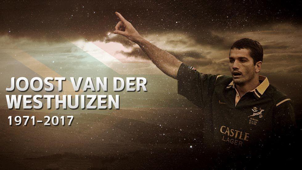 Joost van der Westhuizen tribute artwork.