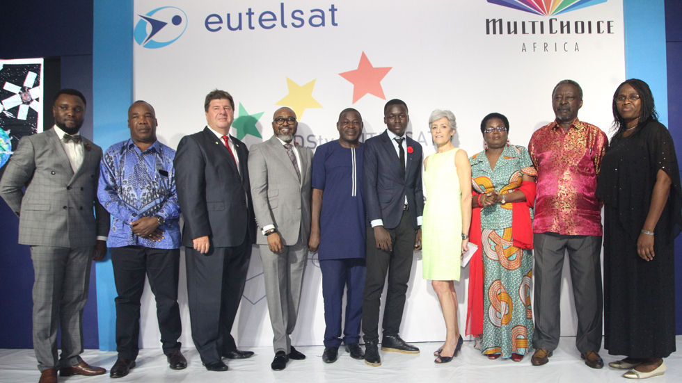 The announcement of the 2017 winners at the DStv Eutelsat Star Awards in Nigeria