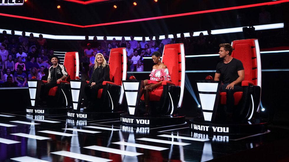 The Voice SA judges.