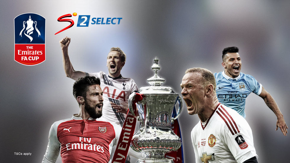 Artwork for the FA Cup on DStv and SuperSport