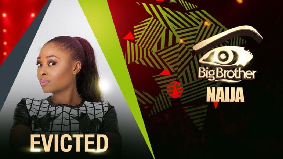 Artwork for the Big Brother Naija Housemate CocoIce, who has been evicted from the reality show